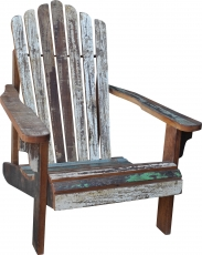 Wooden armchair with armrest - model 4