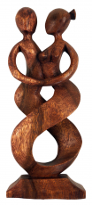 wooden figure, statue, decoration object Feng Shui - `dancing cou..