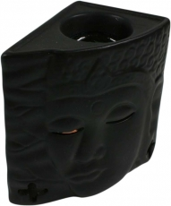 Ceramic Scent Lamp - Buddha 1 black