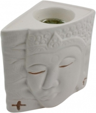 Ceramic Scent Lamp - Buddha 1 white
