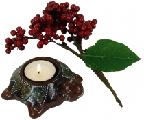 Candle holder, tealight holder ceramic no. 24