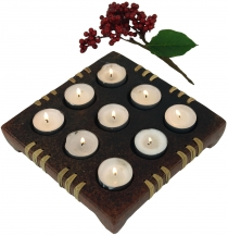 Candle holder, tealight holder ceramic no.5