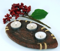 Candle holder, tealight holder ceramic no.9
