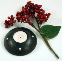 Candle holder, tealight holder ceramic no.11