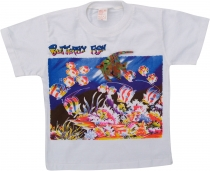 Kids T-Shirt Hippie Goa with `Fish`