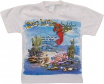 Kids T-Shirt Hippie Goa with`Seahord`