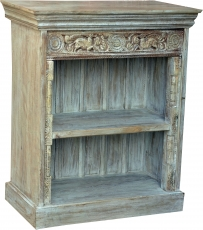 Rustic bookcase, solid wood, bedside cabinet, corridor cabinet - ..