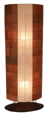 Floor lamp/floor lamp, handmade in Bali from natural material, ba..