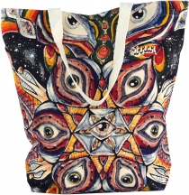 Mirror Shopper Bag, Shopping Bag, Beach Bag - Third Eye
