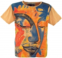Mirror T-Shirt - Buddha/orange