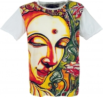 Mirror T-Shirt - Buddha/white