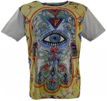 Mirror T-Shirt - Third eye/grey