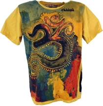 Mirror T-Shirt - OM/yellow