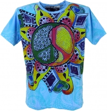 Mirror T-Shirt - Peace/blue
