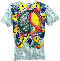 Mirror T-Shirt - Peace white/colorful