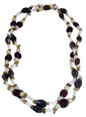 Costume jewellery, Boho pearl necklace - Model 6