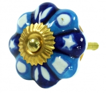 Furniture Knob Rose Ceramic - 26