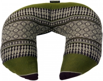 Neck pillow, semicircular Thai neckrest, square neck cushion with..