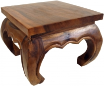 Opium table, tea table, flower bench made of solid wood -brown 35..