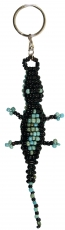Beads keyring crocodile