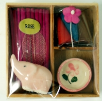 Smoking fragrance set - Rose