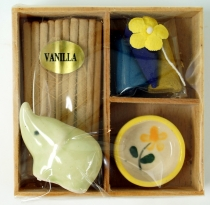Smoking fragrance set - Vanilla