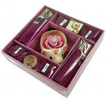 Smoking fragrance set XL Rose