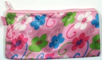 Retro wallet make-up bag `Flower` 2