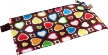 Retro wallet make-up bag `Heart