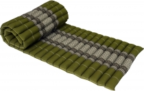 Thai rollable mat with kapok filling