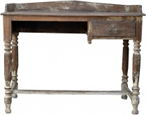 Rustic desk with one drawer - Model 24