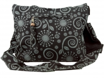 Sadhu Bag, Shopper, small shoulder bag - black