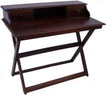 Desk with folding stand 2 drawers - model 10