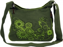Shoulder Bag, Hippie Bag, Goa Bag - green