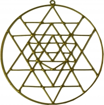 Suncatcher - Yantra gold