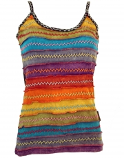 Stonewash Goa Top - Rainbow 1