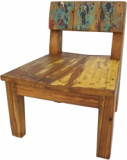 Chair in recycled teak - model 4
