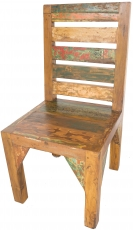 Chair in recycled teak - Model 7