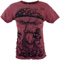 Sure T-Shirt toadstool - bordeaux