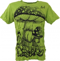 Sure T-Shirt toadstool - lemon