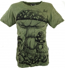 Sure T-Shirt toadstool - olive