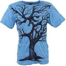 Sure T-Shirt Om Tree - light blue