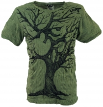 Sure T-Shirt Om Tree - olive