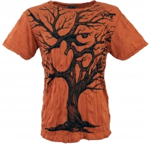 Sure T-Shirt Om Tree - rusty orange