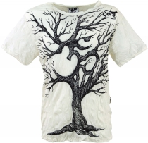 Sure T-Shirt Om Tree - white