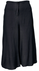 Palazzo trousers, 3/4 divided skirt, boho flare, summer trousers ..