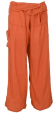 Thai fisherman pants made of viscose, slightly falling fabric, wr..