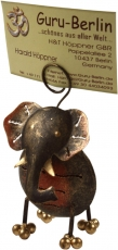 Business card holder, photo holder `Elephant