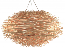 Ceiling lamp/ceiling lamp, handmade in Bali from natural material..