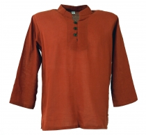 Yoga shirt, Goa shirt - rust